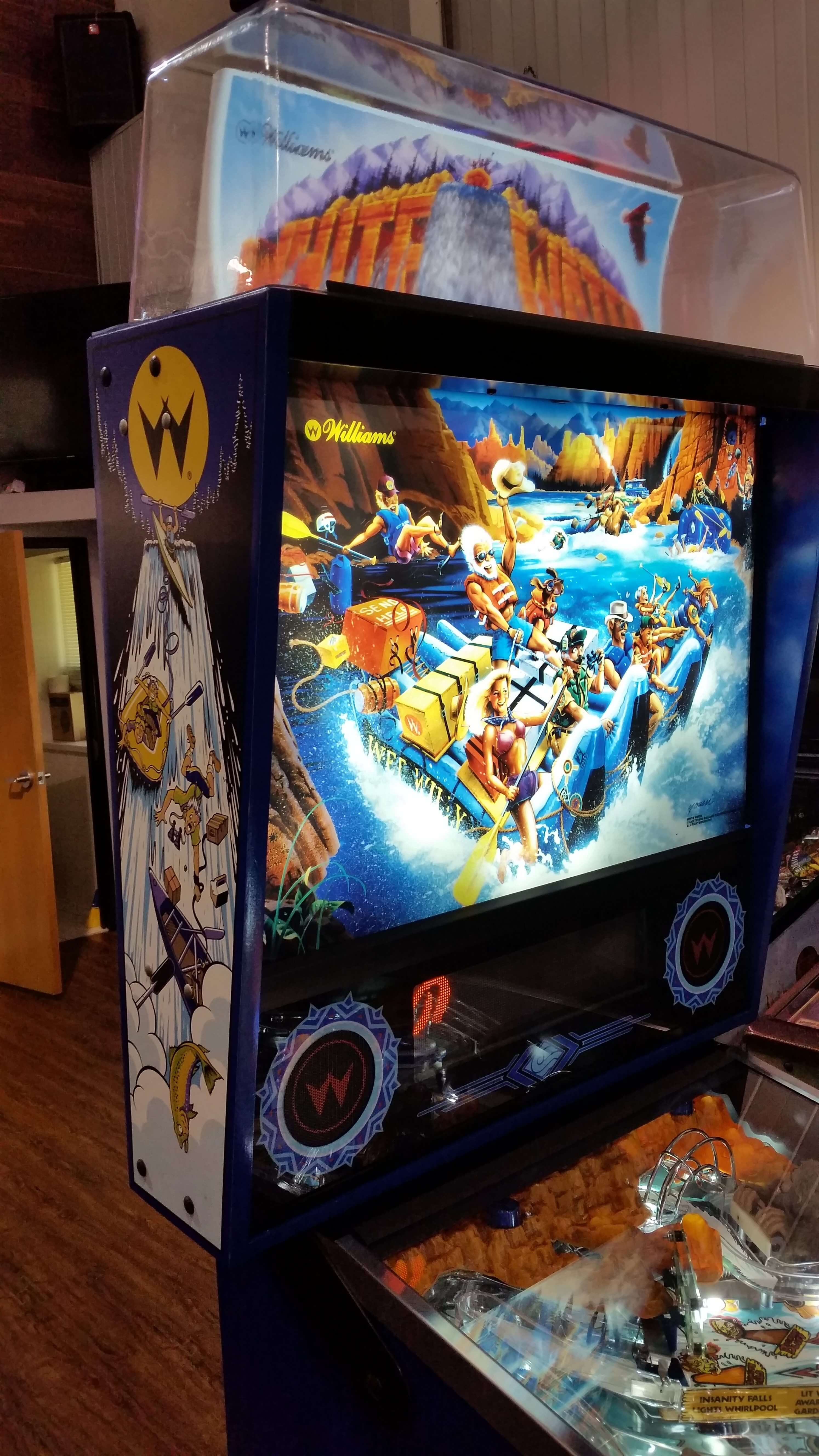Buy White Water Pinball Machine By Williams High End