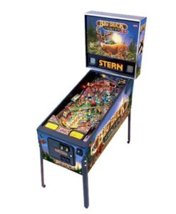 Big Buck Hunter Pinball Machine