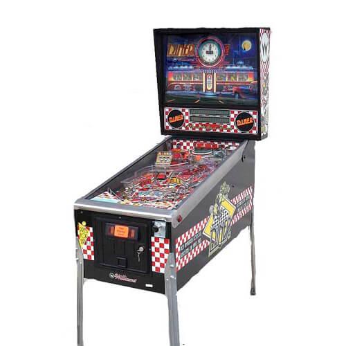 Diner-Pinball-Machine