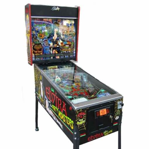 Elvira-Pinball-Machine