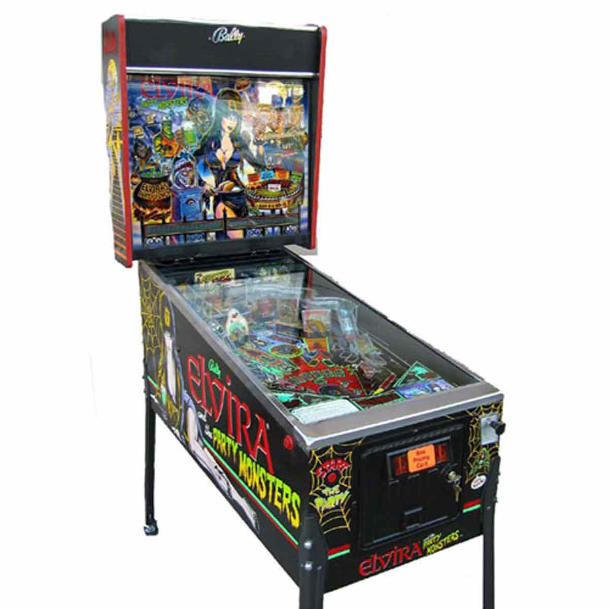 and pinball machine