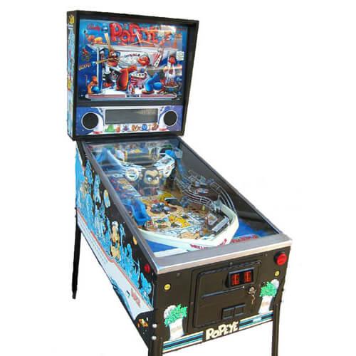 Popeye-pinball-machine
