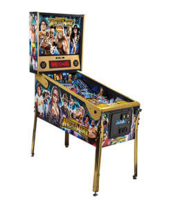 WWE LE Pinball Machine
