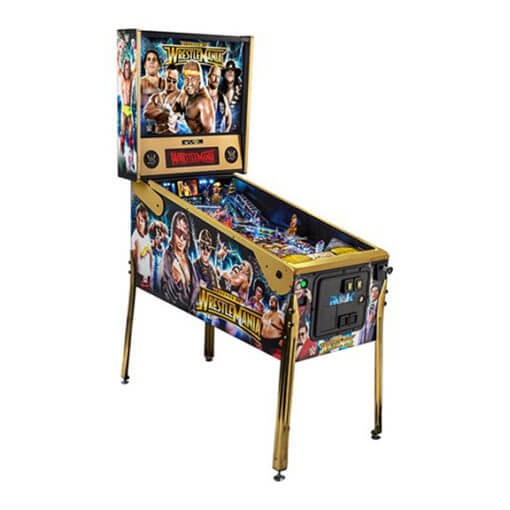 WWE-LE-Pinball-Machine