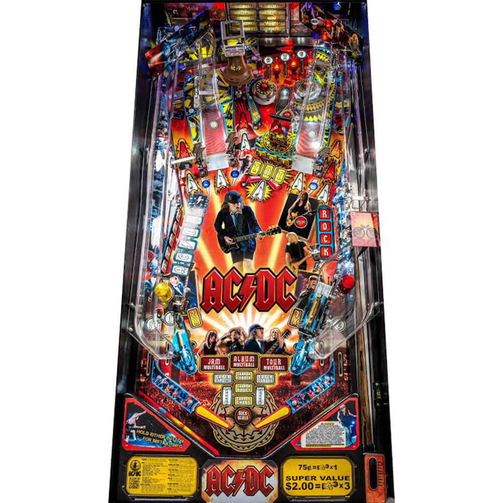 buy ac dc pro pinball machine by stern online at 6499