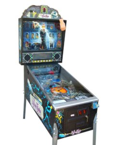 Addam's Family Pinball Machine