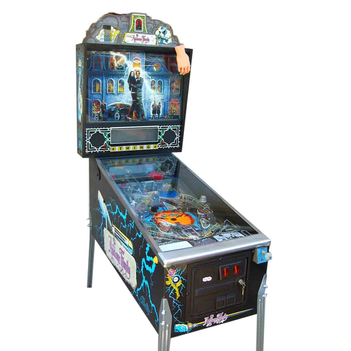 buy addam s family pinball machine by bally online at 9999