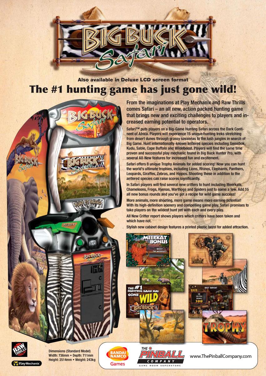 Buy Big Buck Hunter Safari Arcade Game Online At 3999