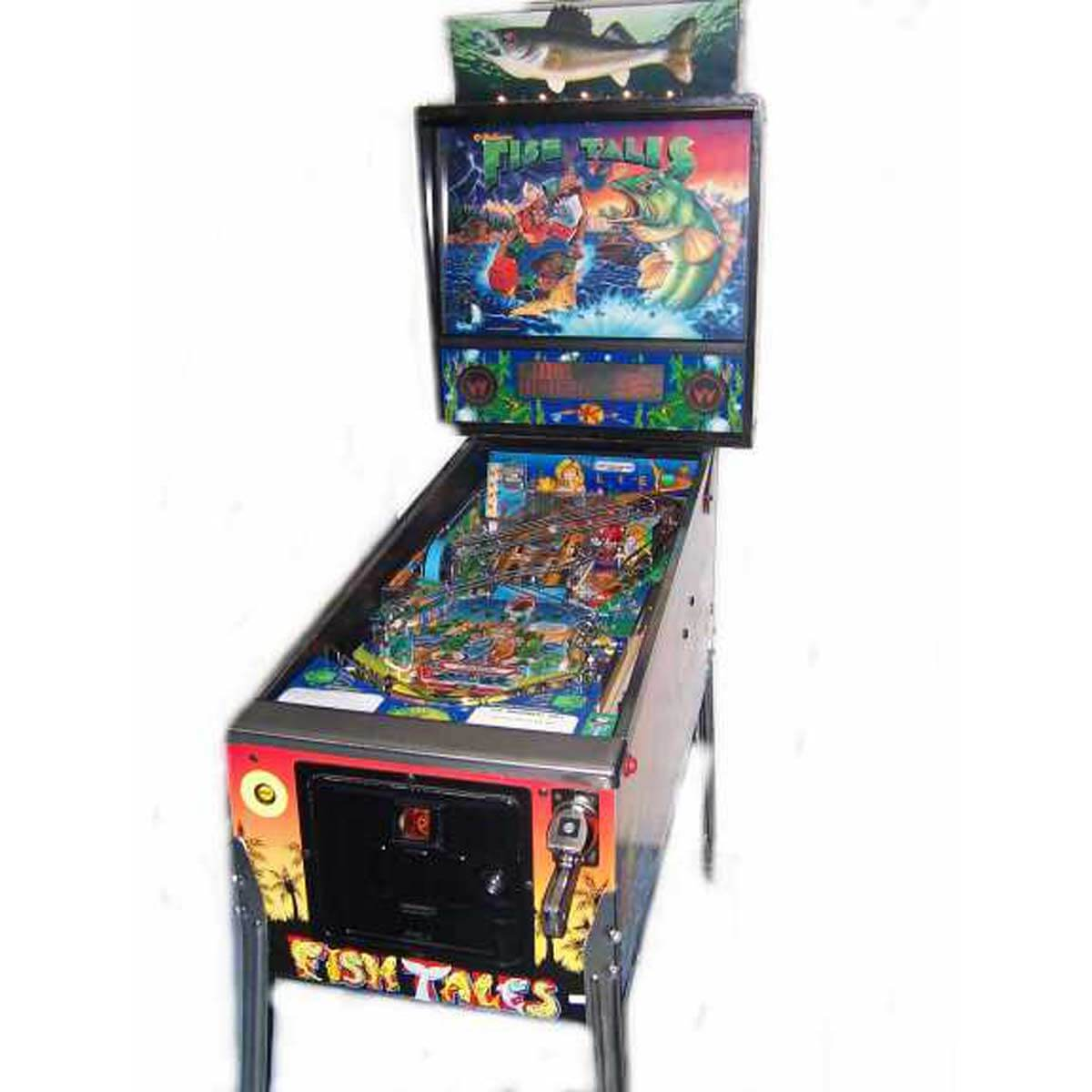 Buy Fish Tales Pinball Machine by Williams Online at $6999