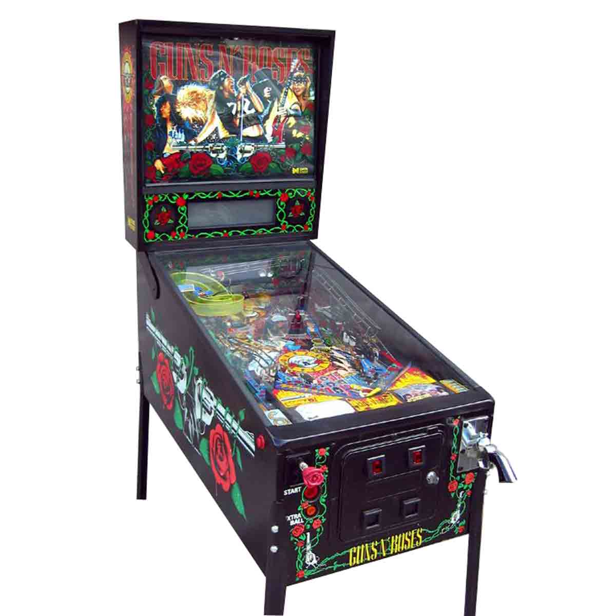 Buy Guns N' Roses Pinball Machine Online at $8999