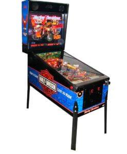 Harley Bally Pinball Machine