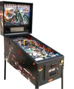 Harley Sega Pinball Machine