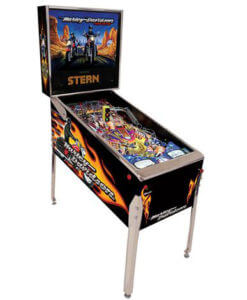 Harley Third Edition Pinball Machine