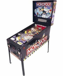 Monopoly Pinball Machine