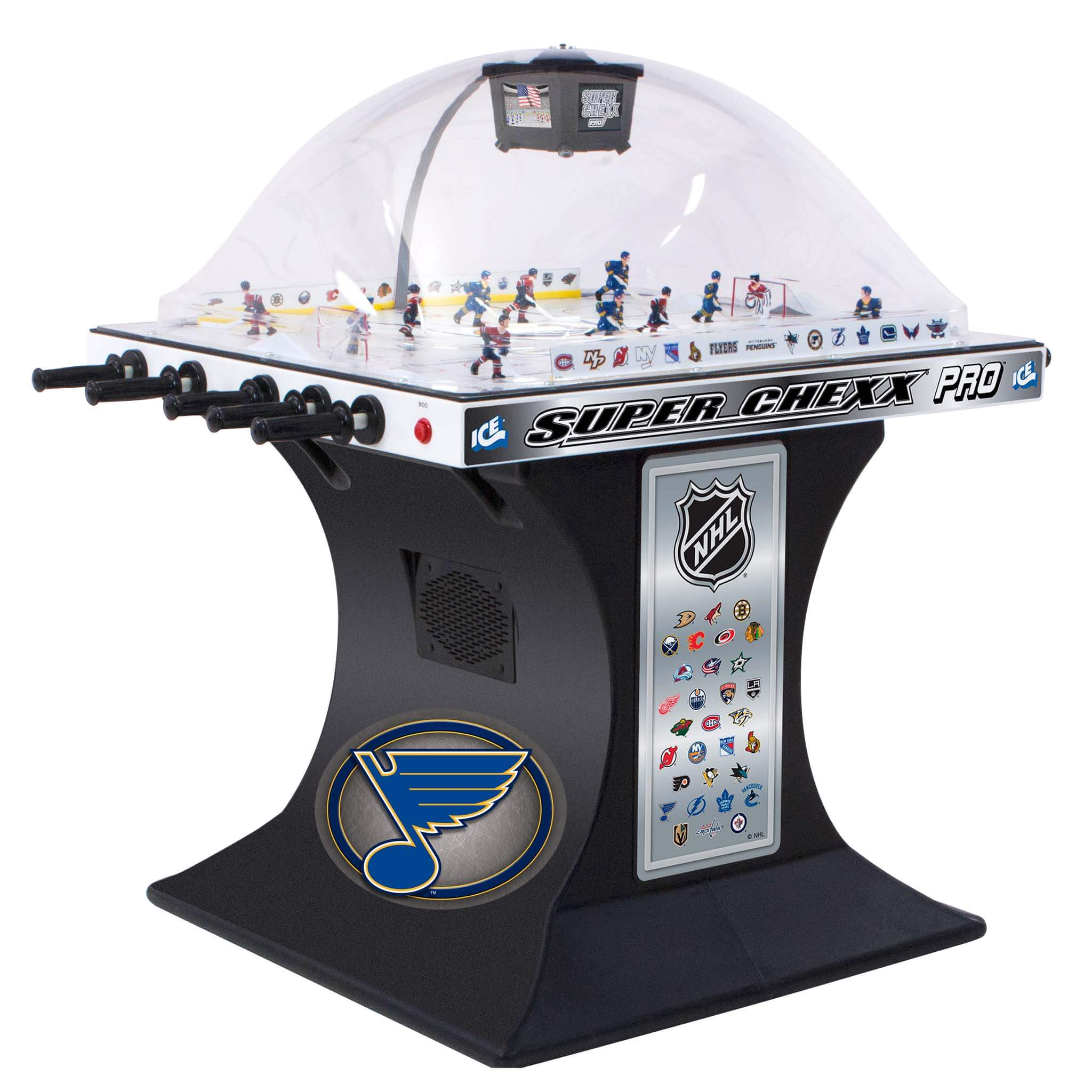 Buy Nhl Licenced Super Chexx Pro Bubble Hockey Choose Your Teams Online At 3999