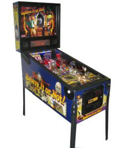 Ripley's Believe It Or Not Pinball Machine