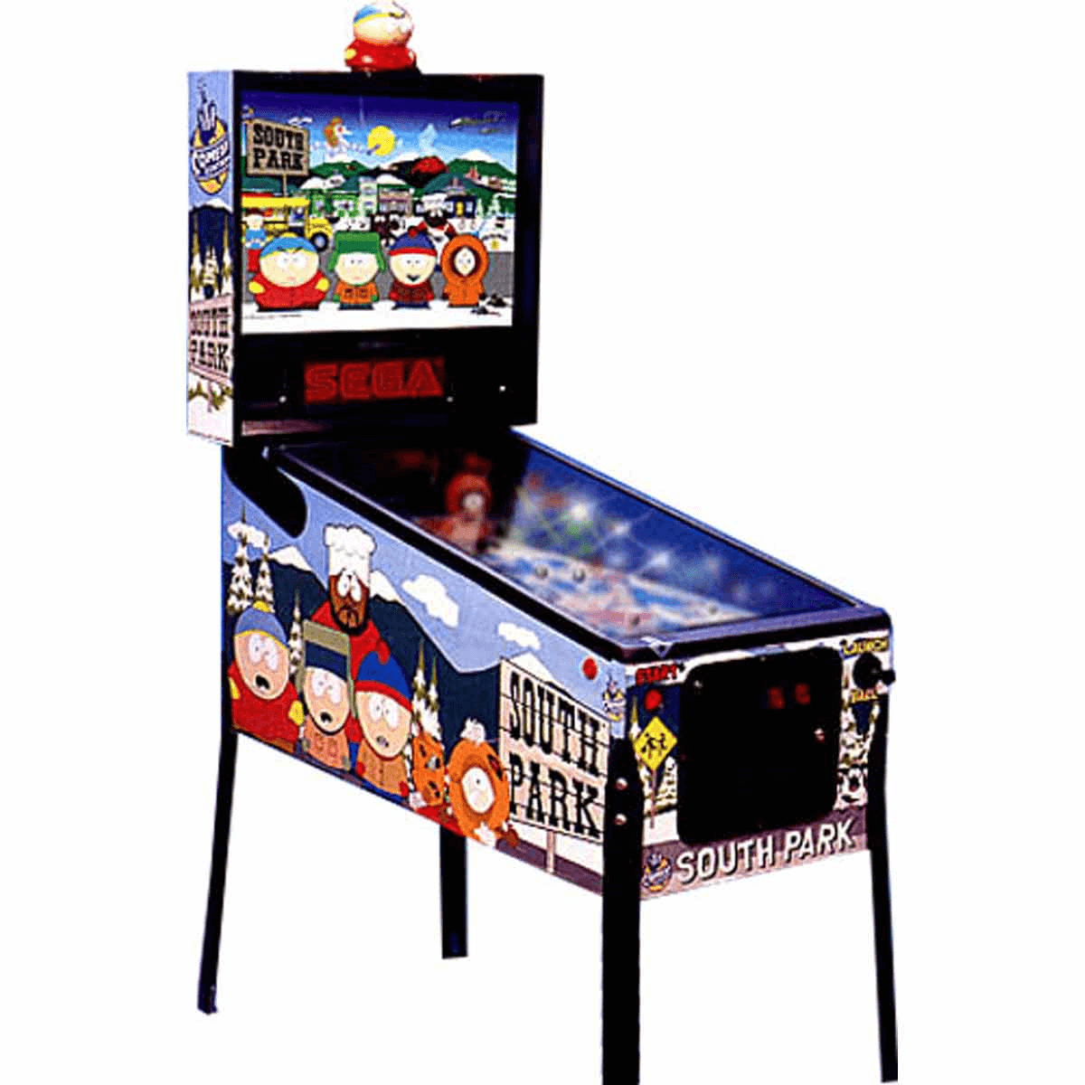 Buy south park pinball machine online at 5999 for Pinball de mesa