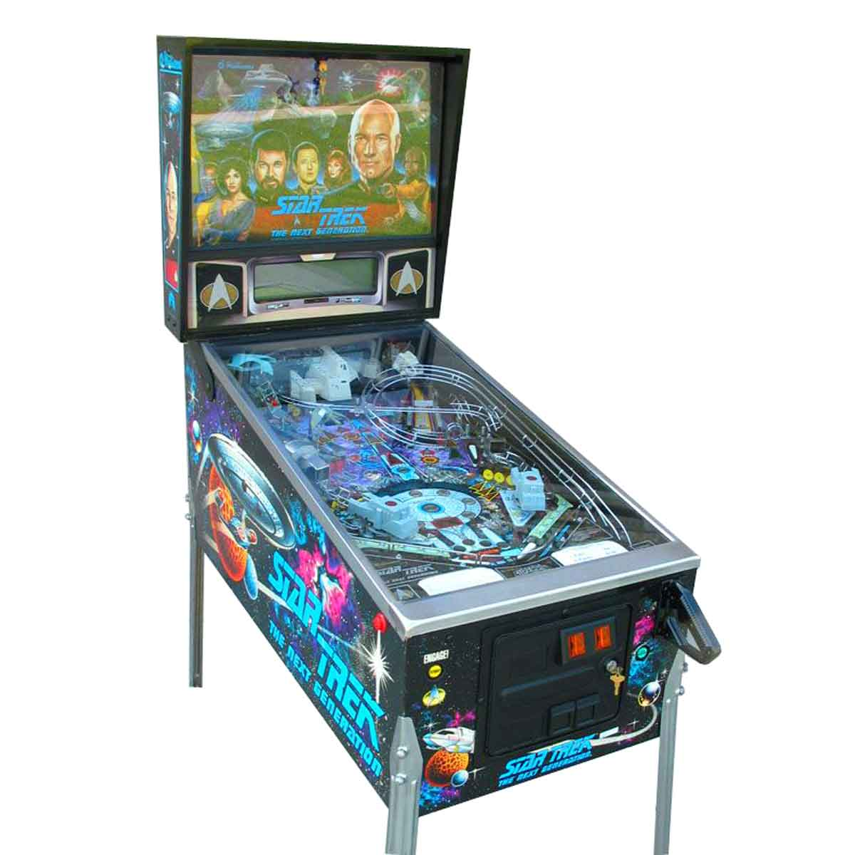 Buy Star Trek: The Next Generation Pinball Machine by Williams ...