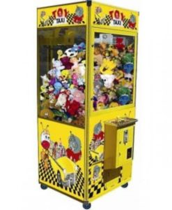 Toy Taxi Crane Machine