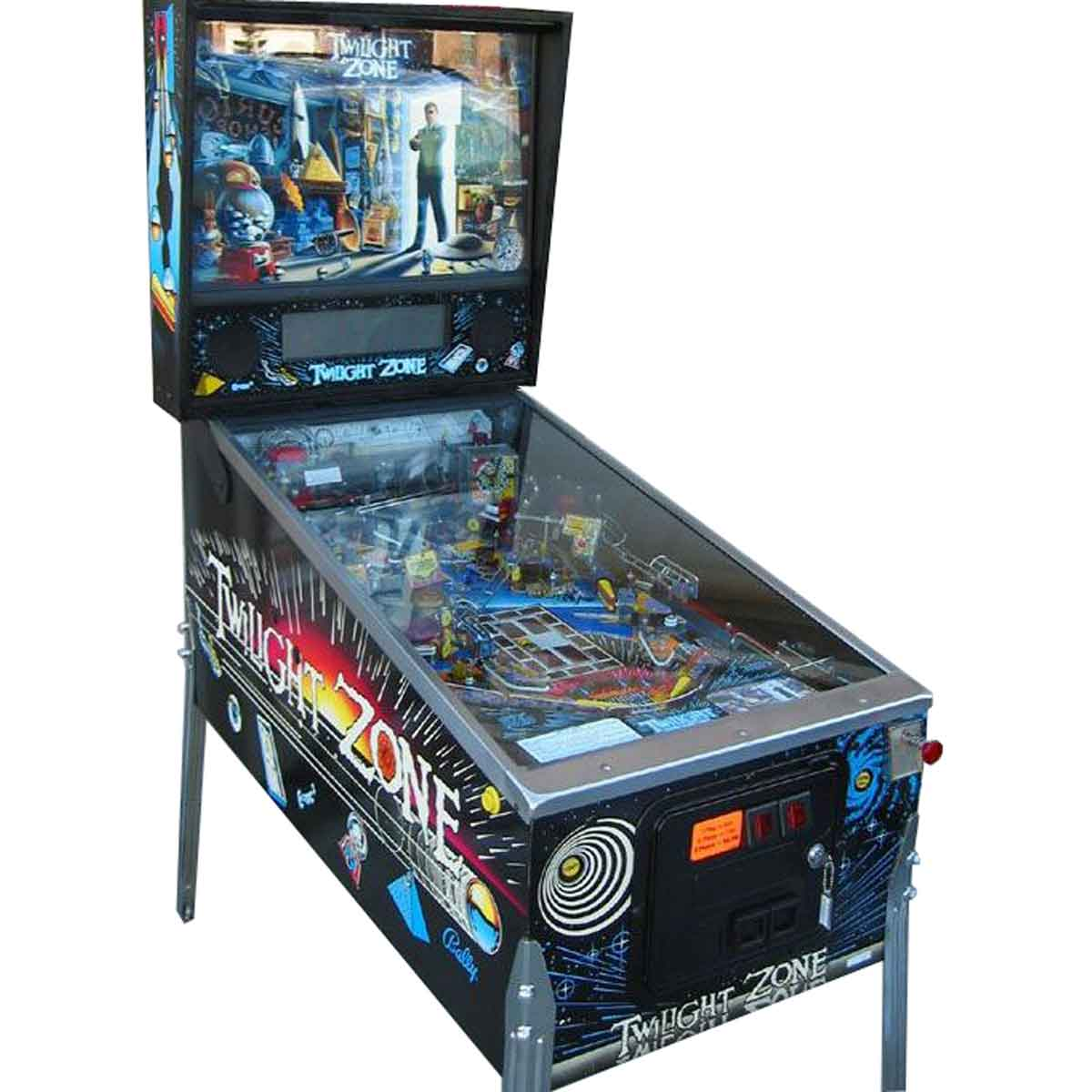 Buy Twilight Zone Pinball Machine by Bally Online at $9999