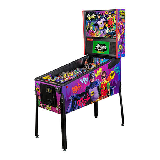 Buy Batman 66 Premium Pinball Machine Online at $8999
