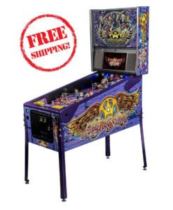 Aerosmith LE Pinball Machine