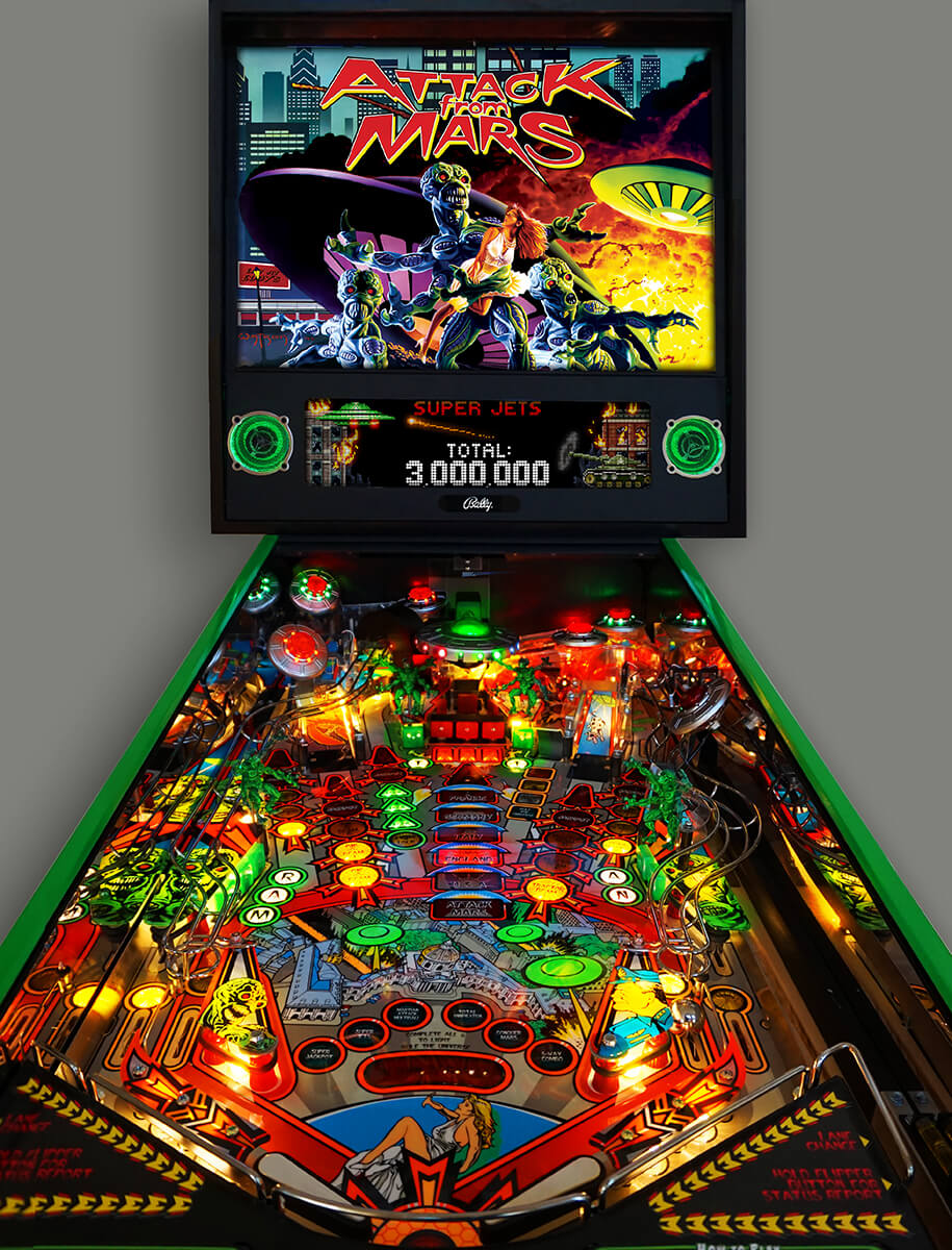 Attack From Mars Remake Pinball Machine – Limited Edition