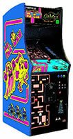 Ms Pacman Galaga Arcade Game