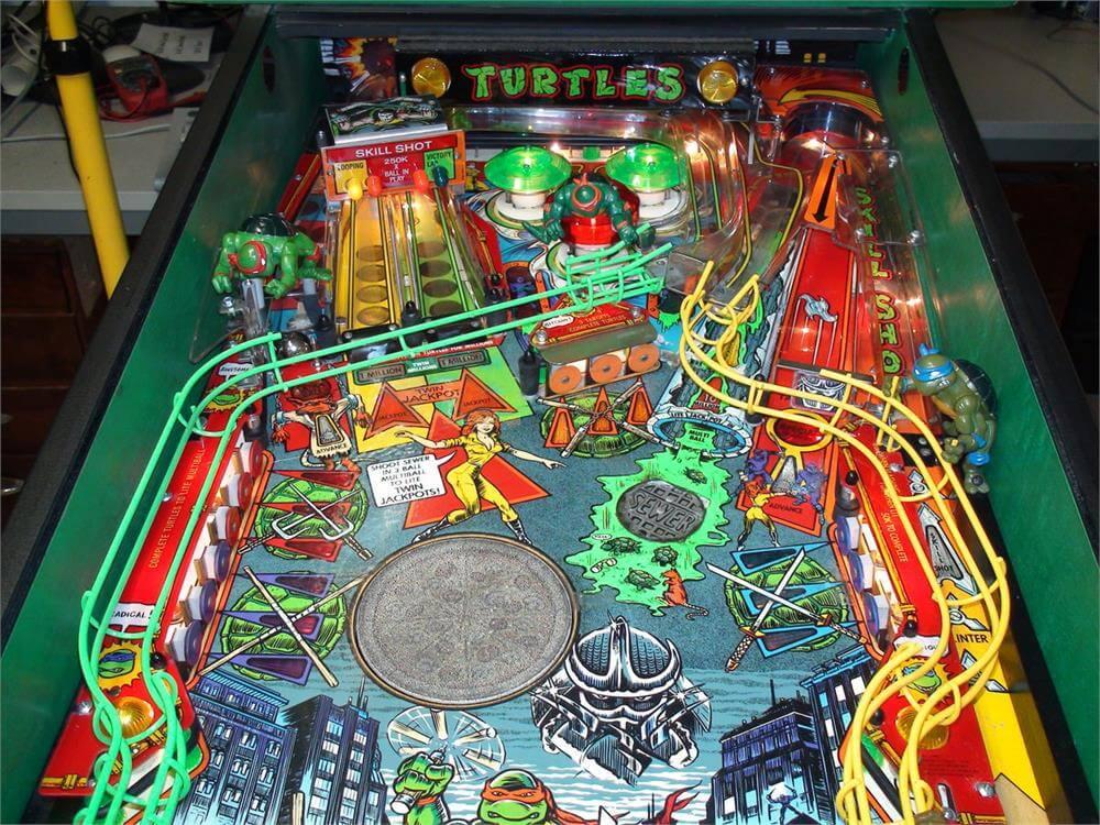 Buy Teenage Mutant Ninja Turtles Pinball Machine Online At