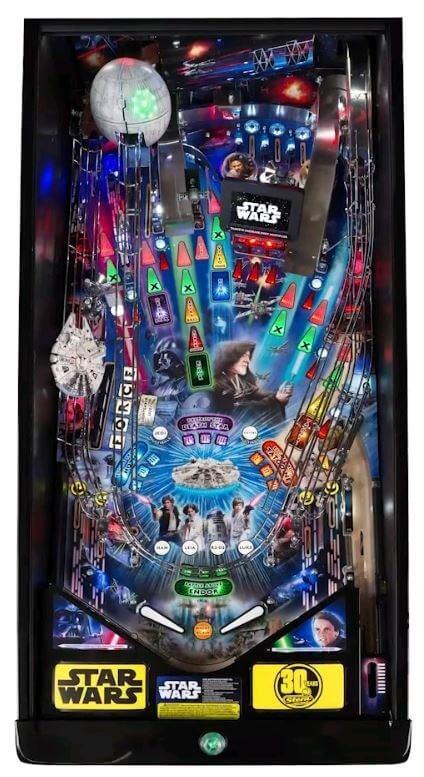Star Wars Pinball Machine >> Buy Star Wars Premium Pinball Machine By Stern Online At 7499