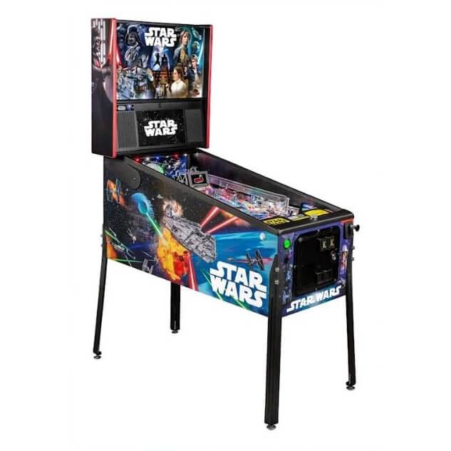 Star Wars Pinball Machine >> Buy Star Wars Pro Pinball Machine By Stern Online At 5799