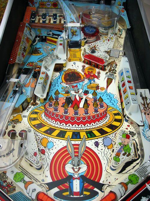 Buy Bugs Bunny Pinball Machine By Bally Online At 4499