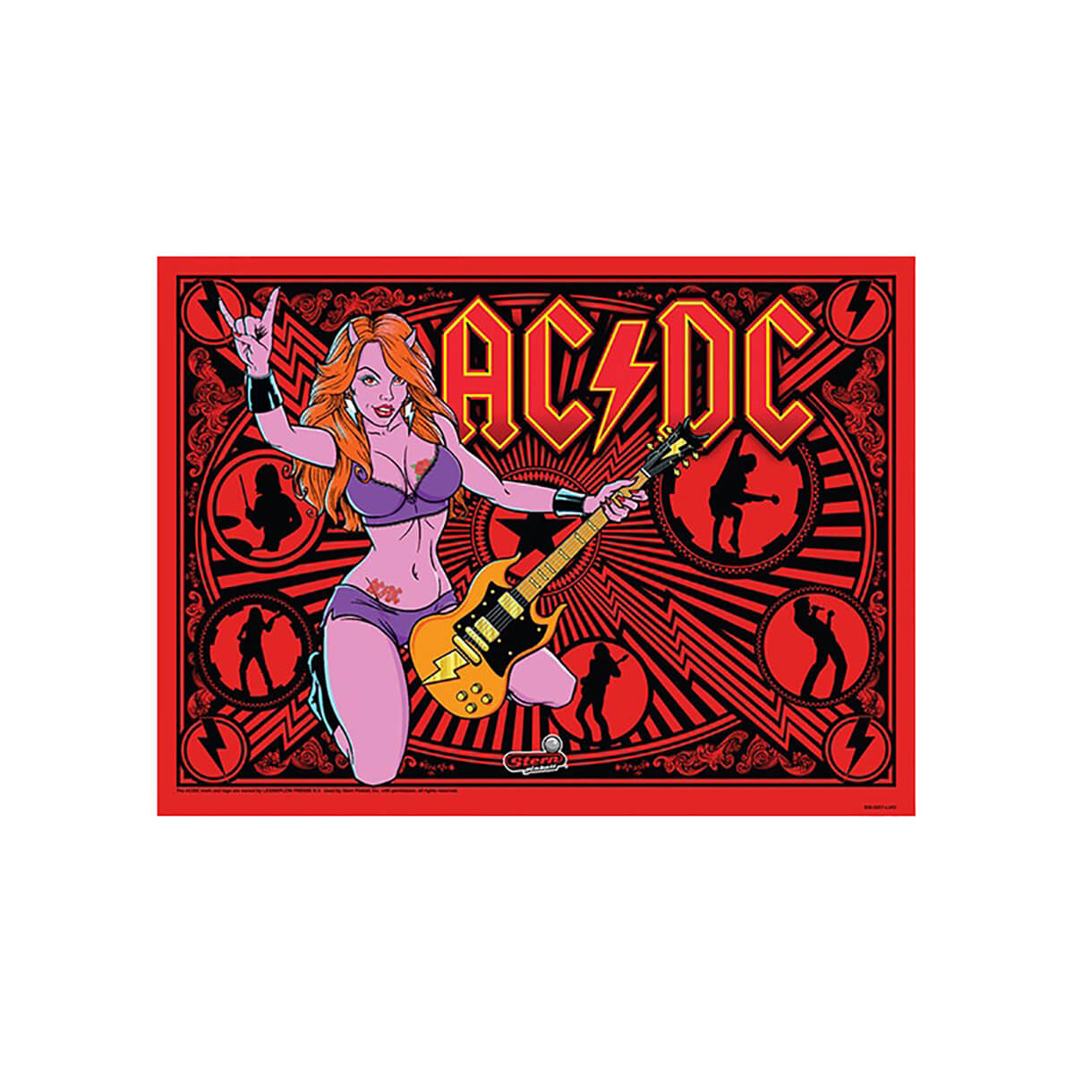 Buy AC/DC Luci Vault Premium Pinball Machine by Stern Online at $7199