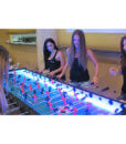 8 foot LED foosball table