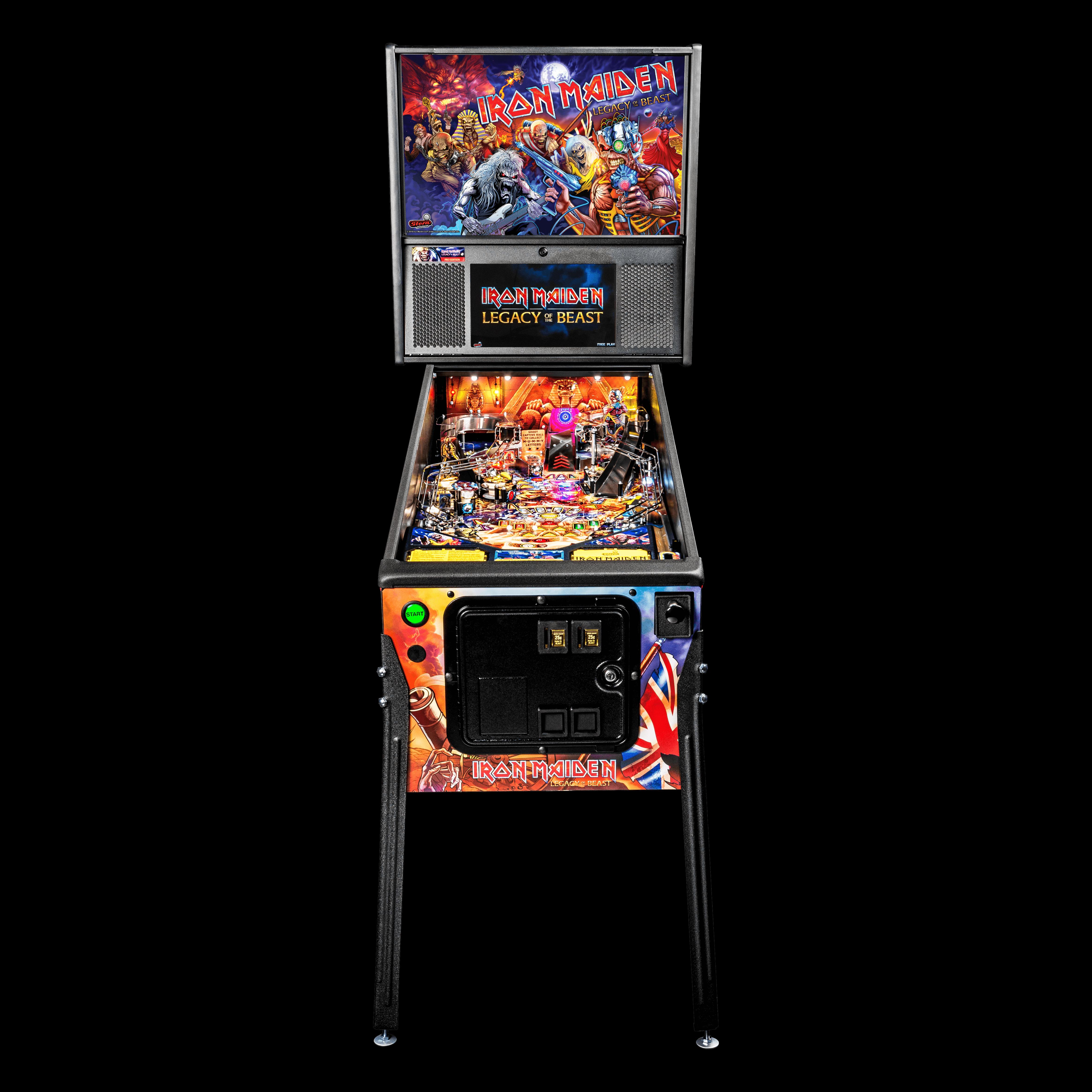 Iron Maiden Pro Pinball Machine by Stern