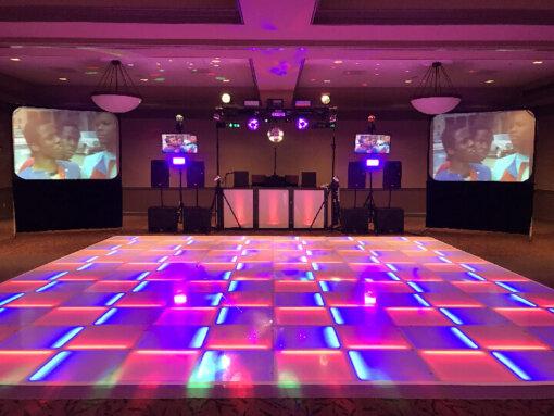 LED Lighted Dance Floor