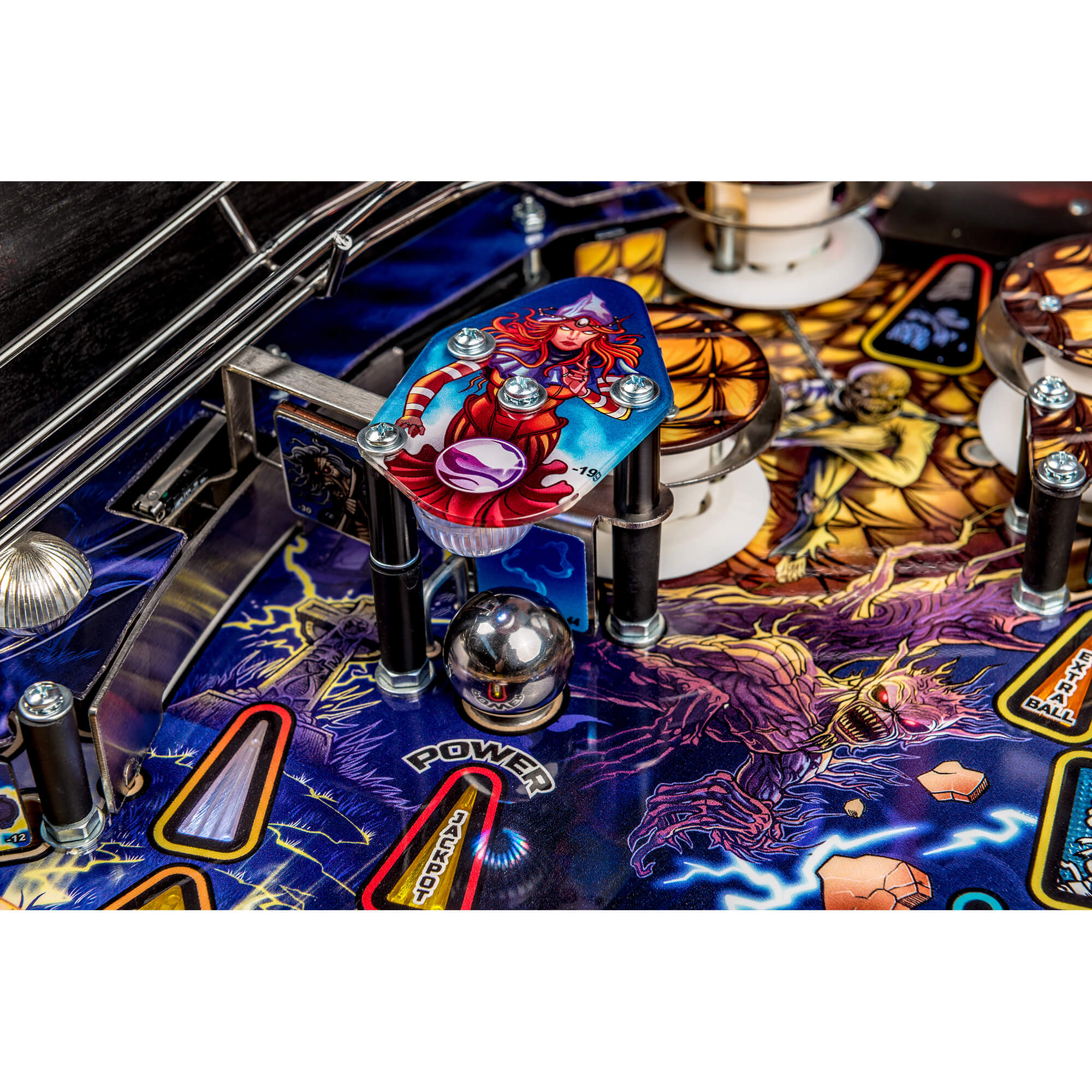 Iron Maiden Premium Pinball Machine by Stern