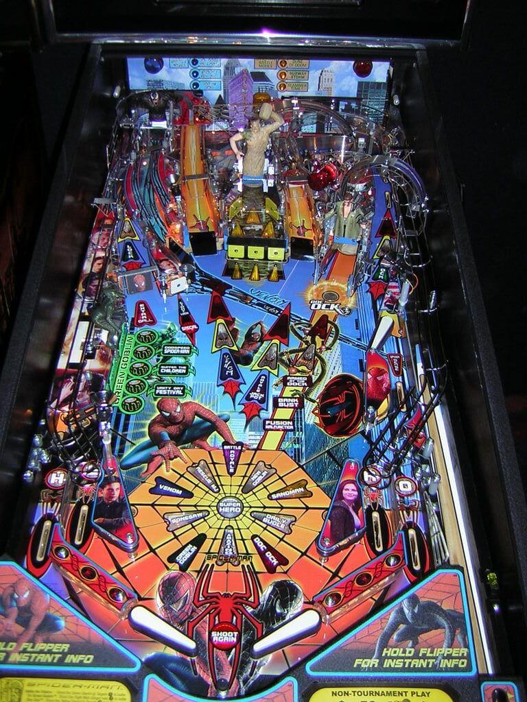 Buy Spider Man Pinball Machine Online At 6499
