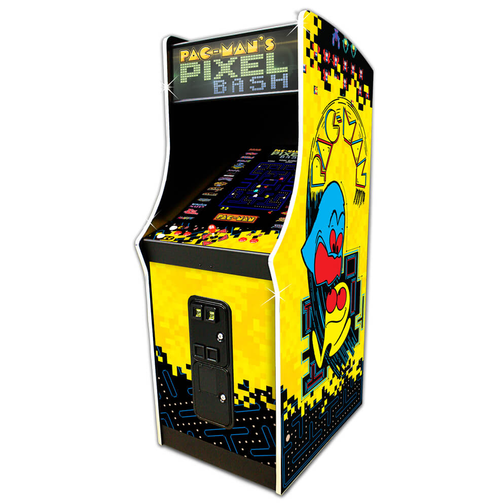 Outstanding Pac Mans Pixel Bash Home Arcade With 32 Games Download Free Architecture Designs Remcamadebymaigaardcom