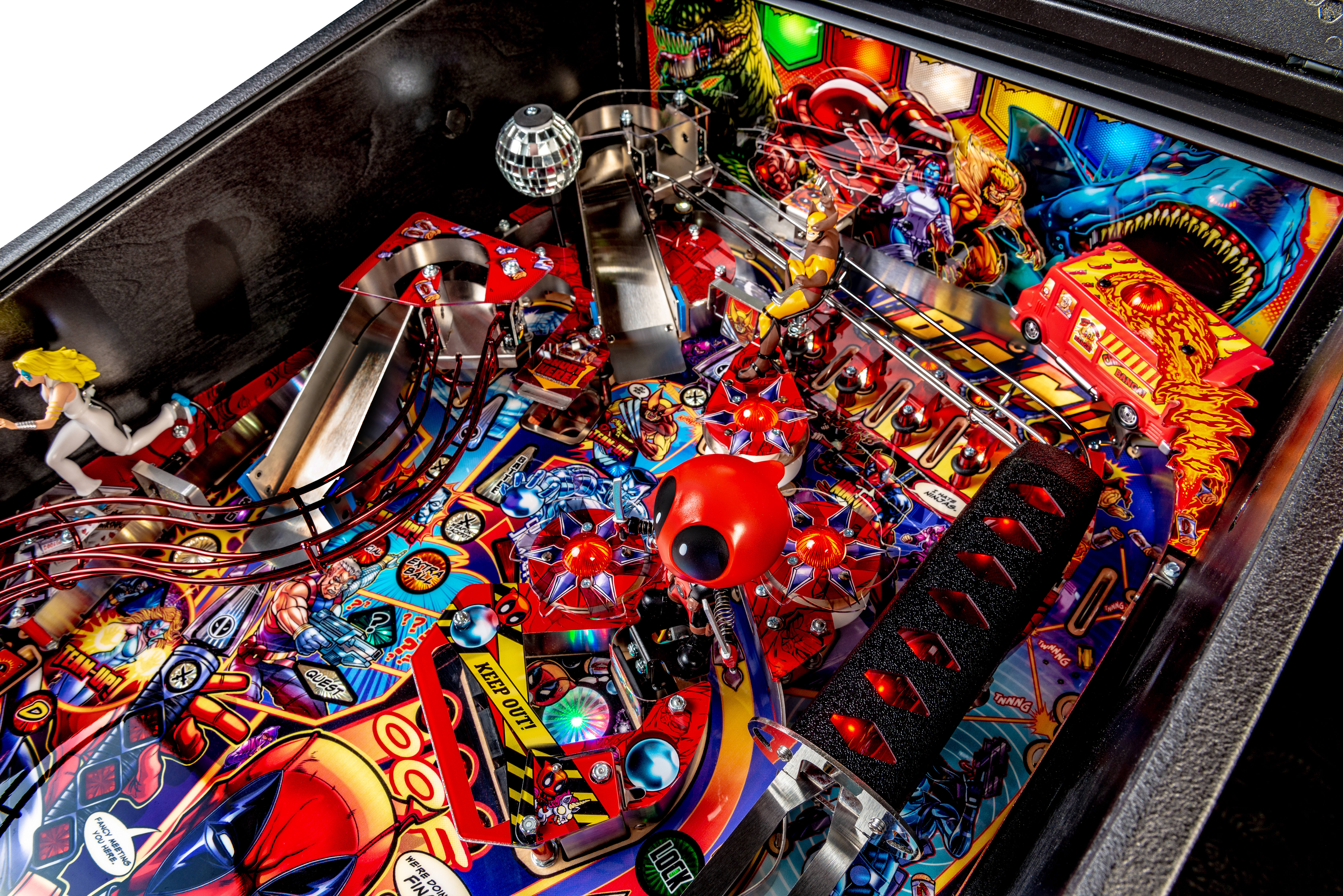 Star Wars Pinball Machine >> Buy Deadpool Premium Pinball Machine by Stern Online at $7599