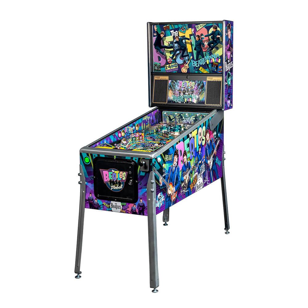 Beatles Platinum Pinball Machine