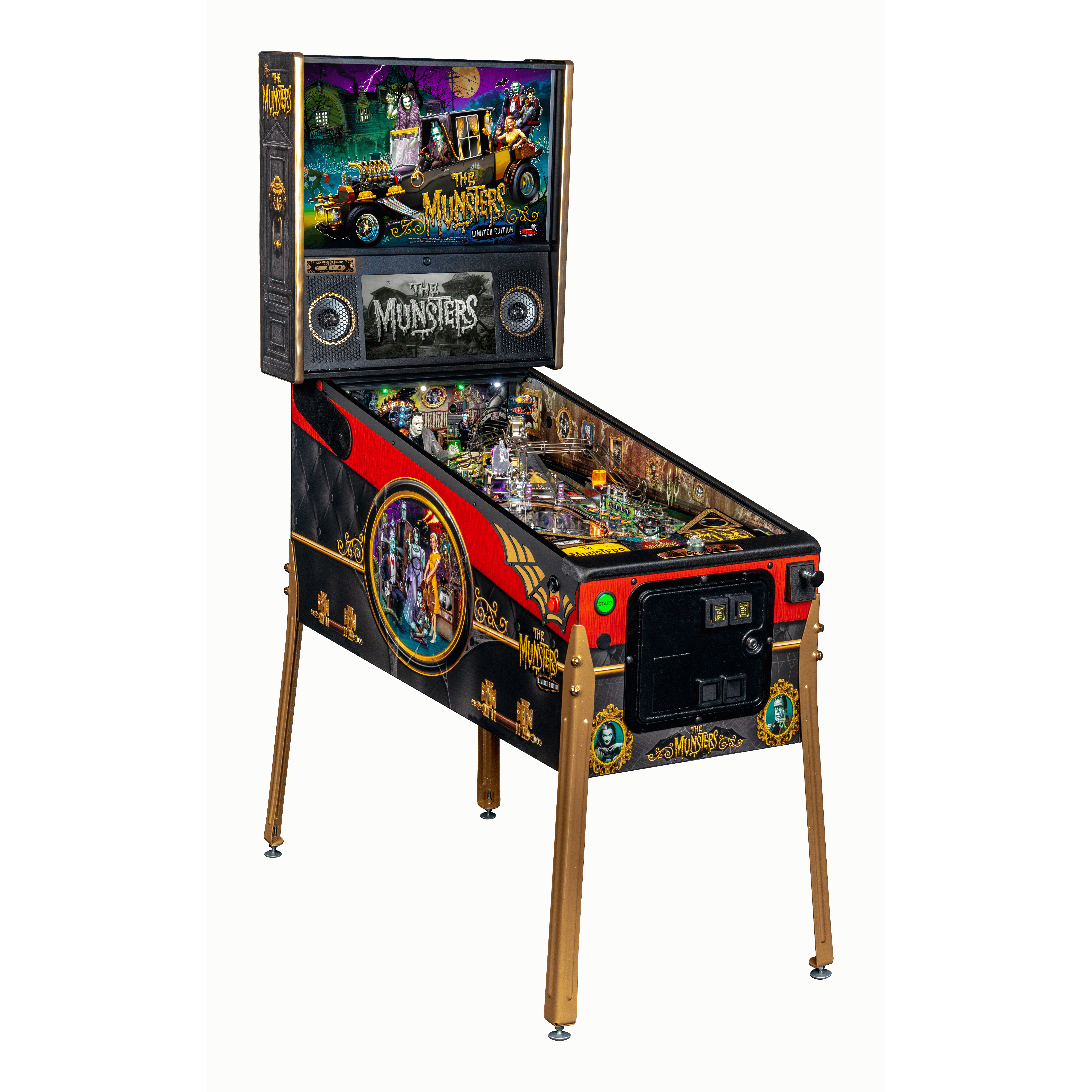 The Munsters Limited Edition Pinball Machine by Stern