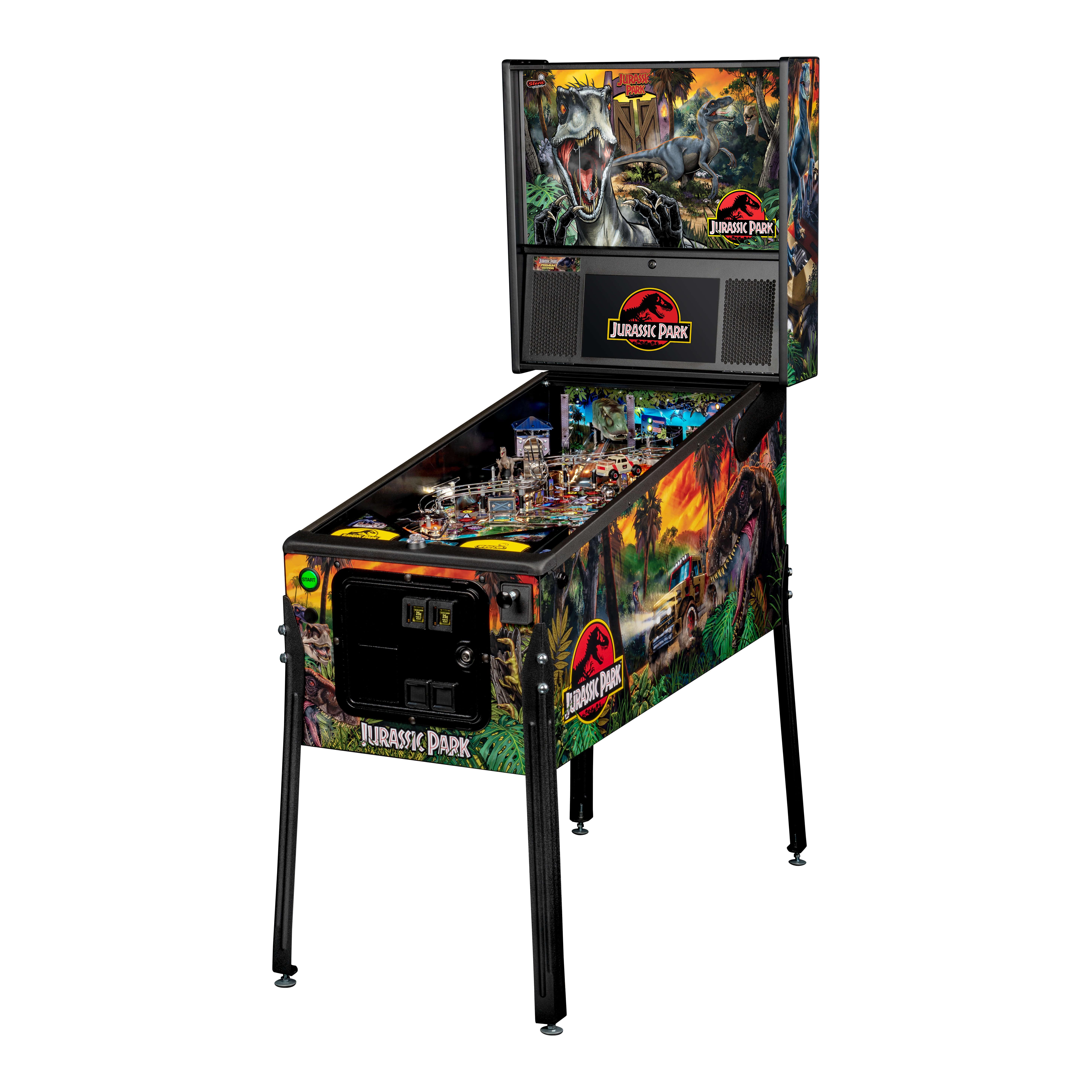 Buy Jurassic Park Premium Pinball Machine by Stern Online ...