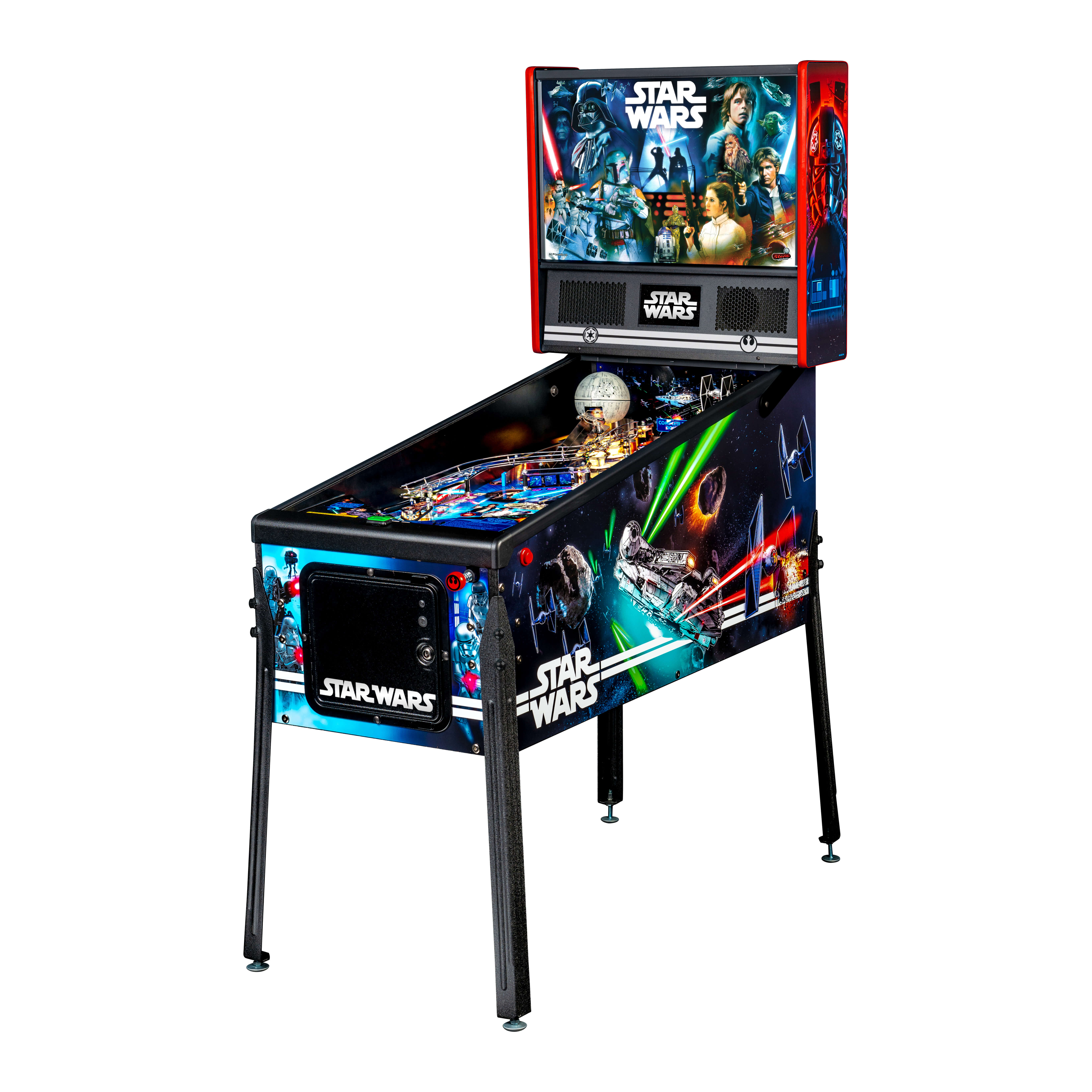 Star Wars Pinball Machine >> Star Wars Pinball Machine
