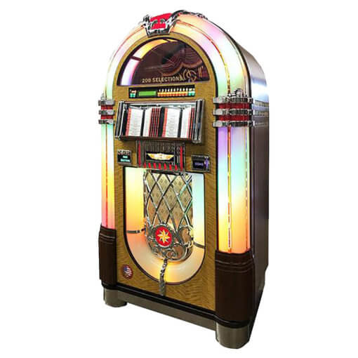 Rock-Ola 45rpm Vinyl Bubbler Jukebox