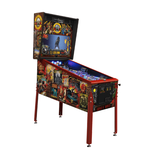 Guns N' Roses Limited Edition Pinball Machine