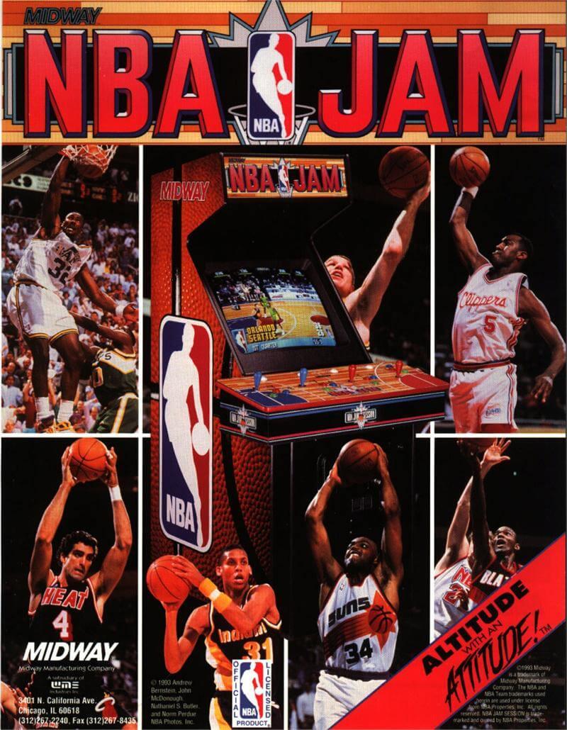 Buy Nba Jam Arcade Game Online At 3999