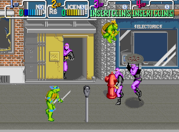 Teenage Mutant Ninja Turtles Arcade Game (1989)