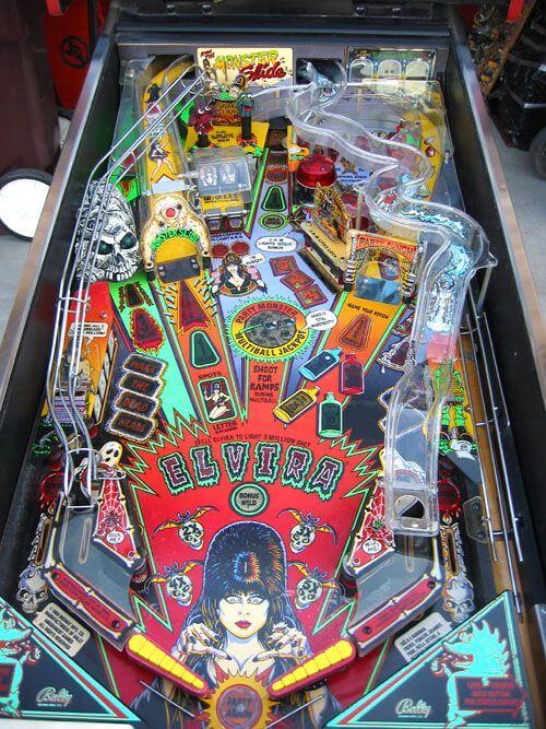 elvira and the monsters pinball machine