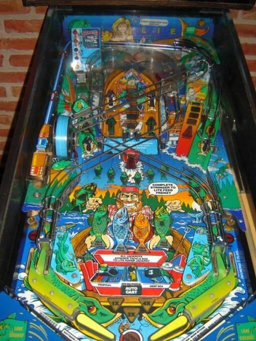 buy fish tales pinball machine by williams online at 5499